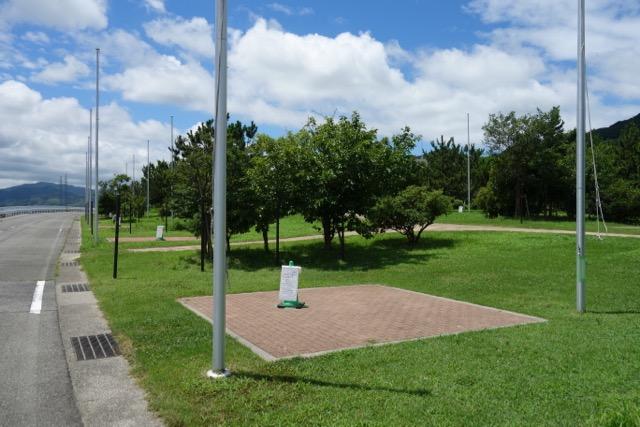 国営明石海峡公園バーベキュー広場のサイト