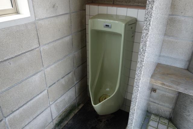江井海水浴場のトイレ小