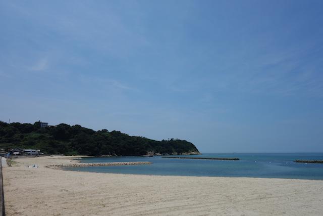 江井海水浴場の全体像